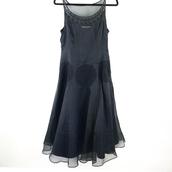0dcfd18de639 Teri Jon Dresses   Rickie Freeman Chiffon Cocktail Dress   Poshmark